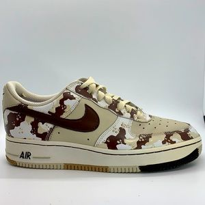 Youth 2006 Nike Air Force 1 low Desert Camo